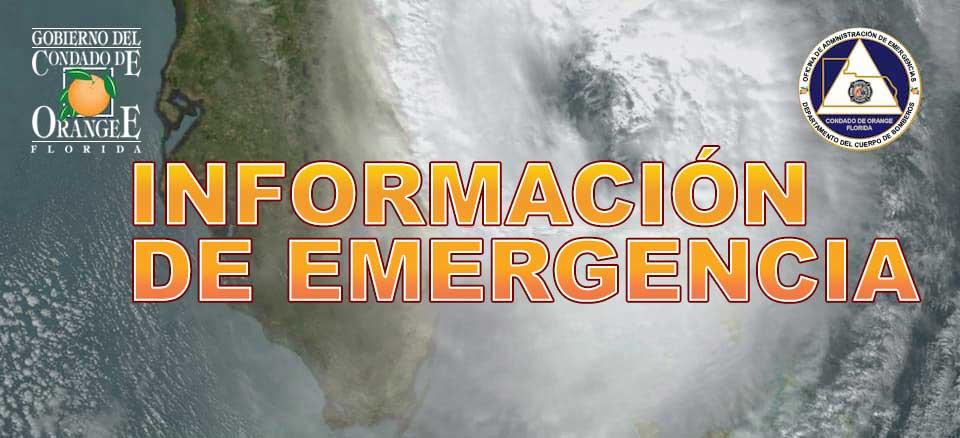 Información de Emergencia